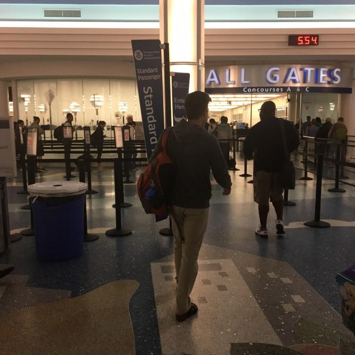 Through TSA
