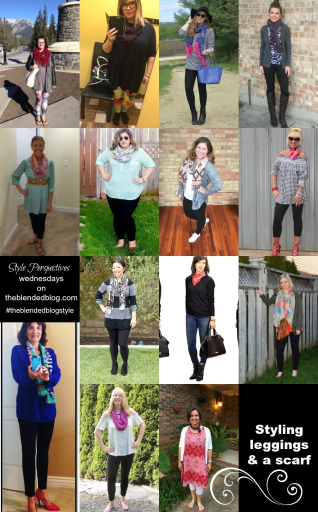 Style Perspectives: Leggings + Scarf
