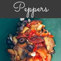 Make roasted peppers at home!