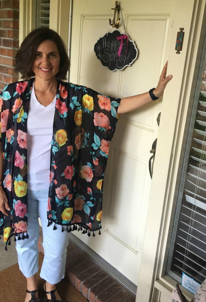kimono look for spring