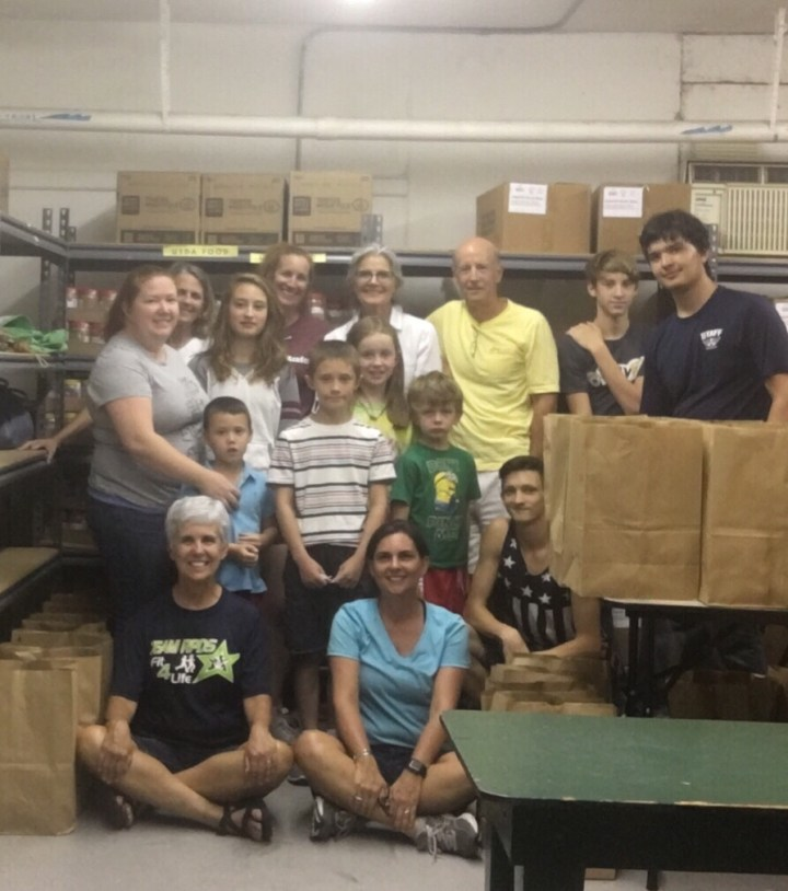 Catholic Charities service project