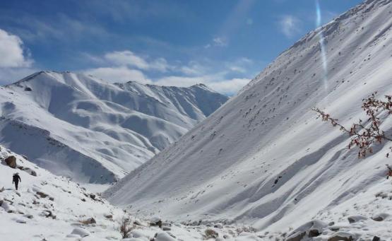 trek de sham ladakh sans guide
