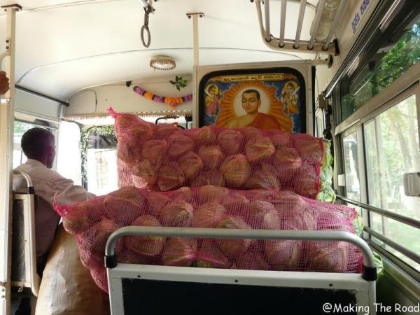itineraire sri lanka transport bus car voyage sac à dos itinéraire 15 jours