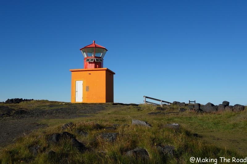 phare de Falki islande quoi voir quoi Péninsule de Snaefellsjokull