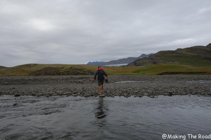randonnée flaajokull islande
