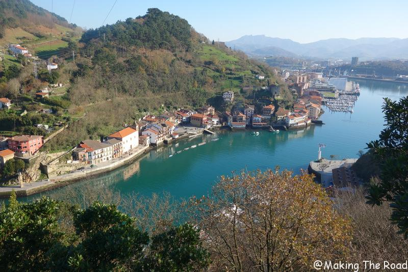 Pasaia - basque vacances petit budget photos sources d'eaux chaudes sauvages