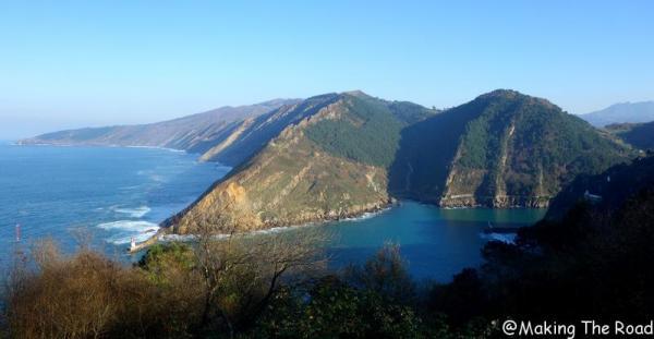 Pasaia les falaises de Jaizkibel que faire pays basque itinéraire Pays basque week end