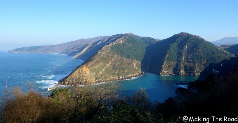Pasaia les falaises de Jaizkibel - basque voyage un we end - randonnée
