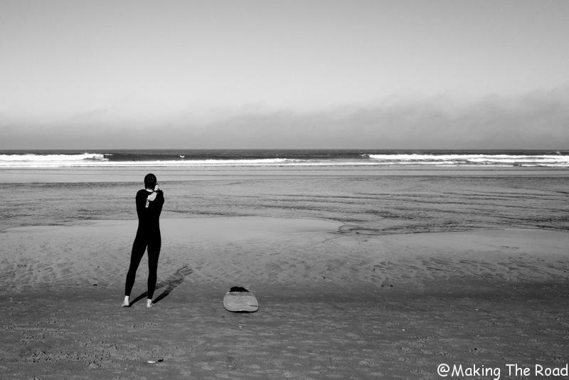 apprendre à faire du surf océan atlantique - surf messange donostia