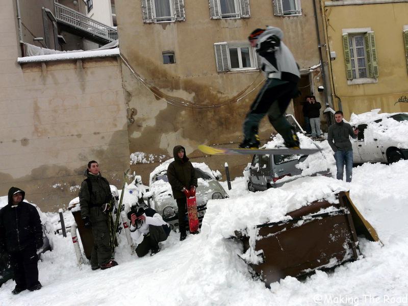 snowboard neige marseille