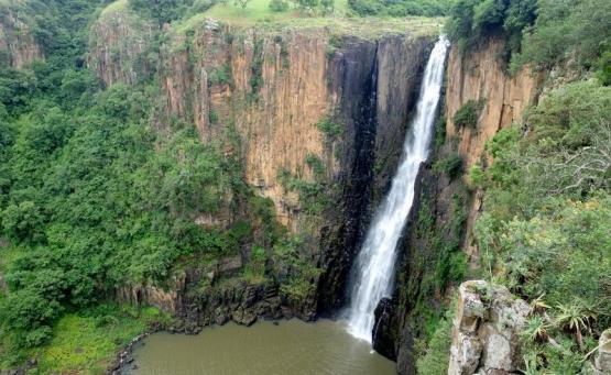 Afrique du sud drakensberg cascade howick