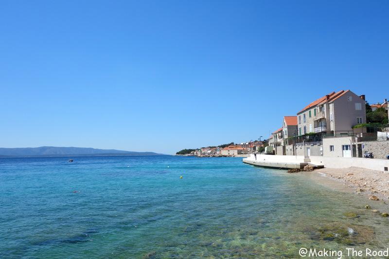 itinéraire road trip croatie 1 semaine plage bol ile brac