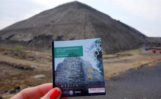 visite teotihuacán escale Mexico - visite pyramides
