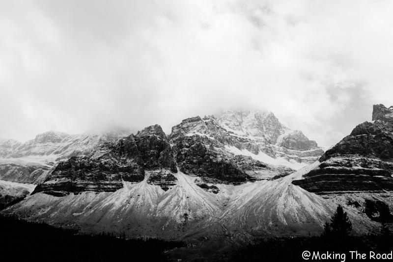 Promenade des Glaciers canada route itinèraire