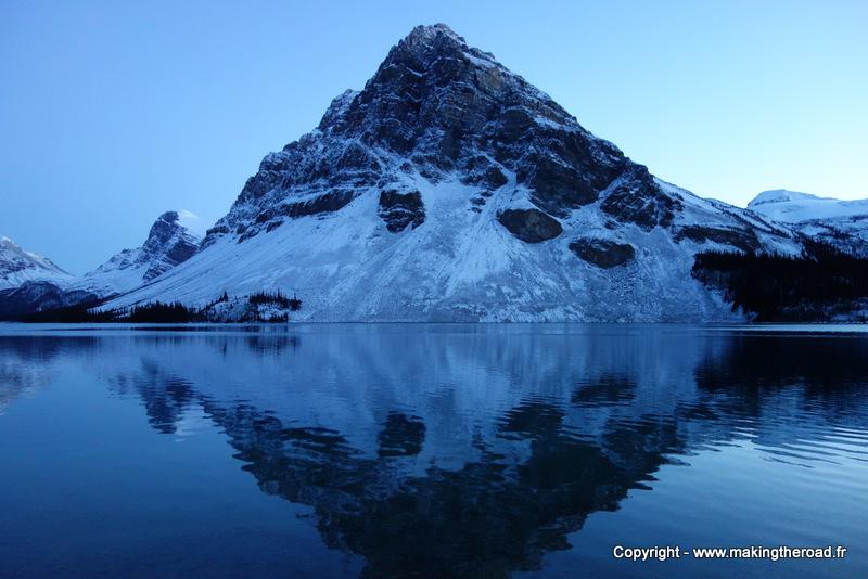 lac bow randonnée promenade des glacier canada blog voyage