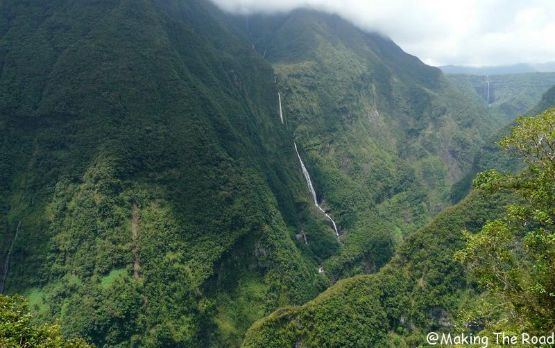 randonnée takamaka réunion cascade