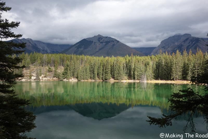 4 semaines road trip ouest canadien rocheuses randonnée canmore