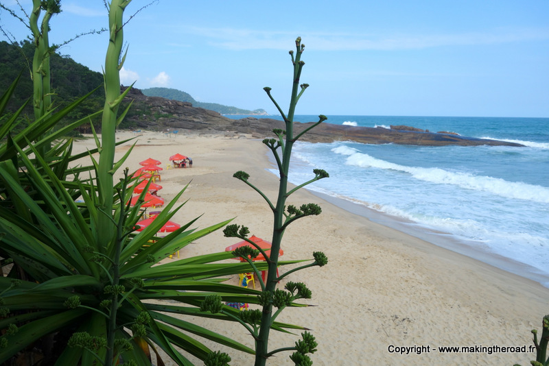 praia cepilho paraty plage brésil 2 semaines road trip