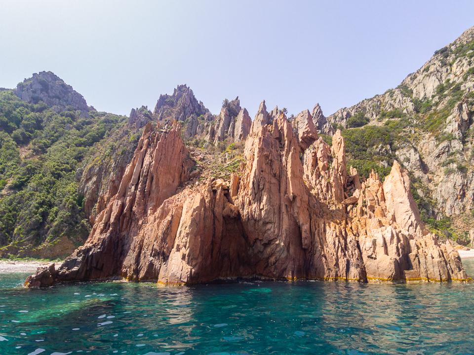 visiter les îles françaises méditerranéennes la corse