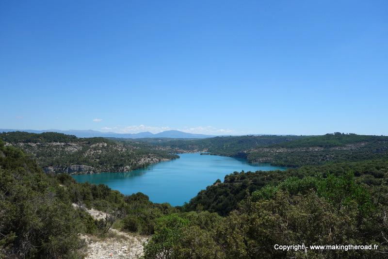 visiter la provence blog lac sainte croix