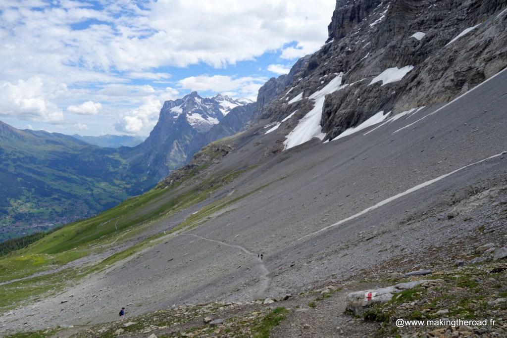 randonnee eiger trail facile wengen étè