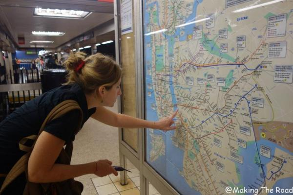 conseil visite new york metro itineraire budget voyage