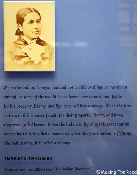 blog visiter new york à pied musée American Indian native gratuit