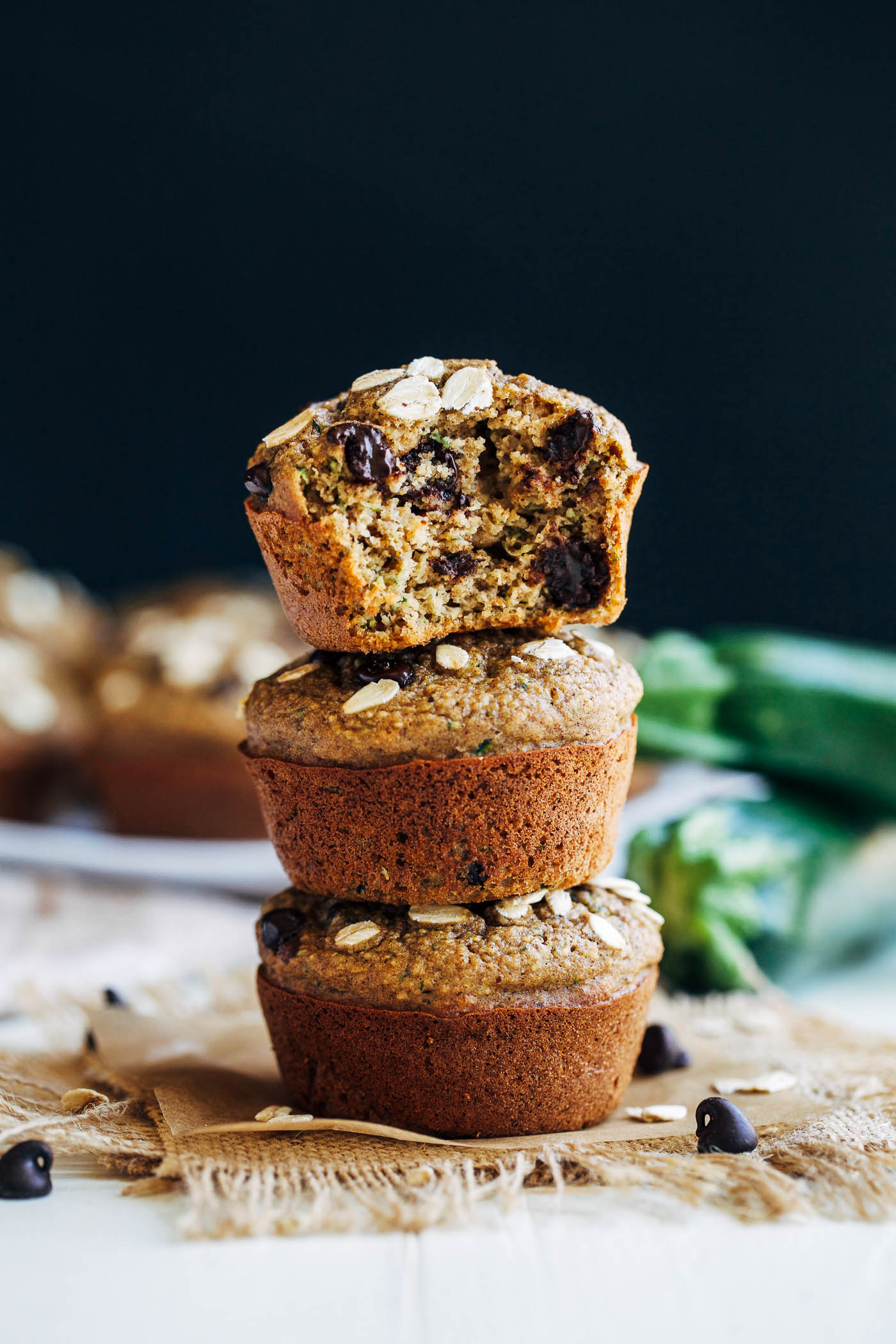Healthy Flourless Zucchini Muffins Making Thyme For Health
