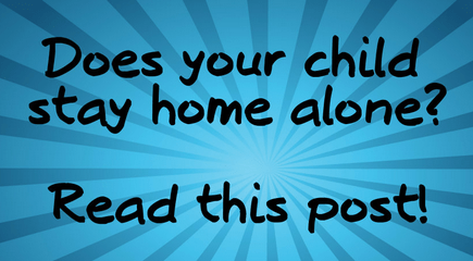 Read These Safety Tips Before Leaving Kids Home Alone