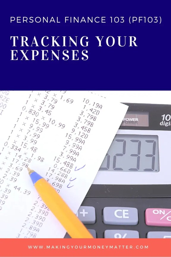Start tracking your expenses with this free money management course, including spreadsheet!