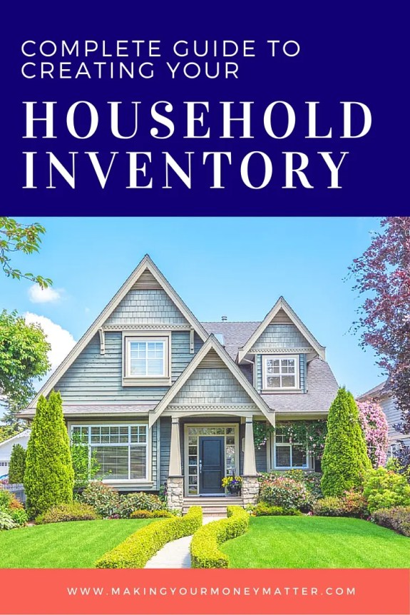Everyone should have a household inventory. Love this spreadsheet!
