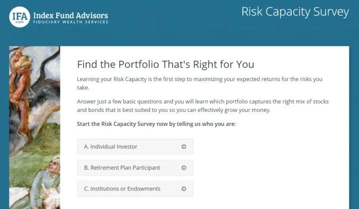 index-fund-advisors-risk-capacity-survey-snip