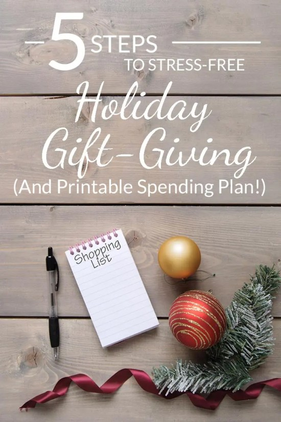 YES! This year I'm budgeting my holiday spending and not going over a single penny. Christmas is about showing people that you care, not buying things you can't afford. LOVE this spreadsheet spending plan.