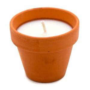 5 Minute Soy Flower Pot Container Candle