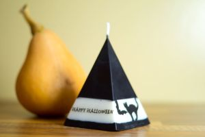 Witch's Hat Halloween Candle