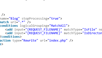 WordPress Pretty Permalinks on Windows IIS Server