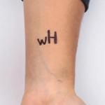 tato tulisan tangan