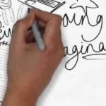 cara membuat video animasi tulisan tangan