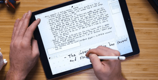 aplikasi tulisan tangan