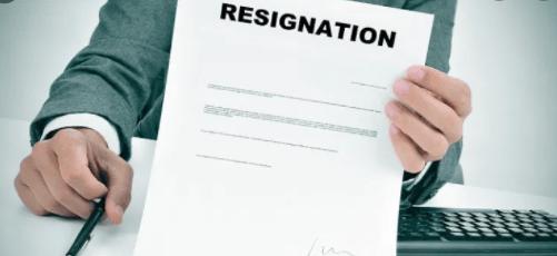 contoh surat resign tulisan tangan