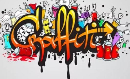 Graffiti tulisan tangan