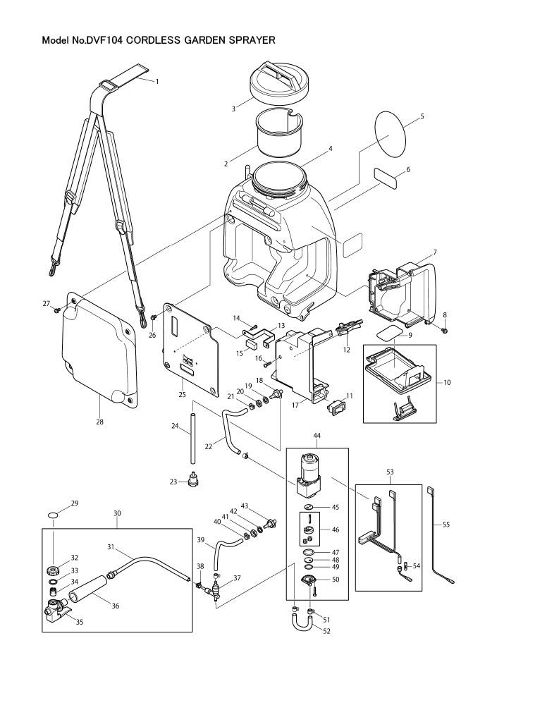 medium resolution of part diagram dvf104z