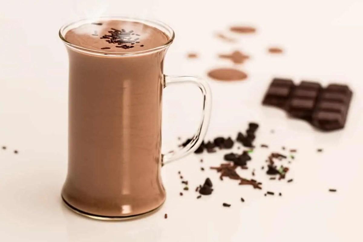 minuman coklat bubuk