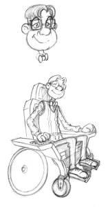 Steven en fauteuil par Samuel Ménétrier