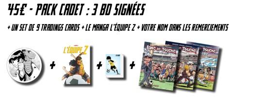 L'Équipe Z + 3 albums de la BD Banc de Touche signées !