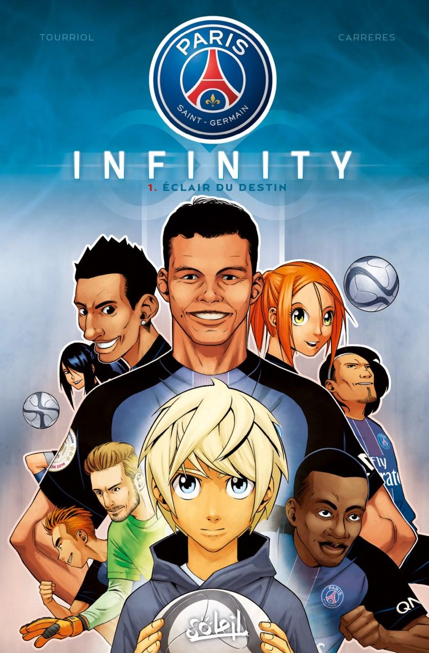 PSG Infinity : le manga officiel du PSG dessiné par Albert Carreres.