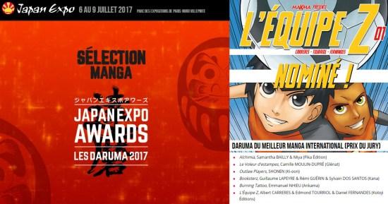 En route vers le Daruma 2017 aux Japan Expo Awards !