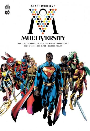 Multiversity : un récit de Grant Morrison traduit par Laurent Queyssi.