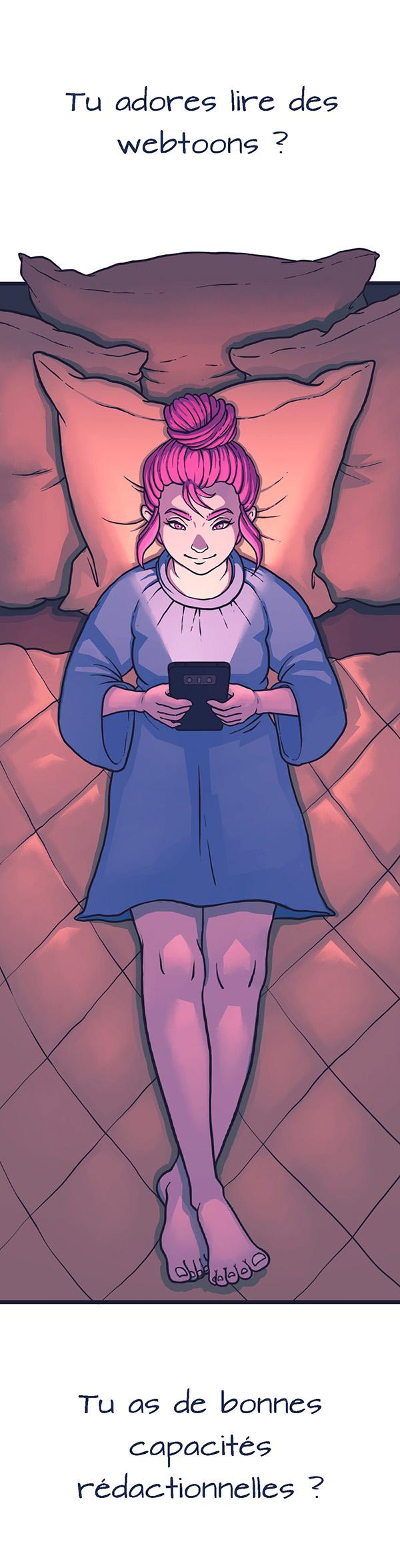 Webtoon Planet : toute l'actu de vos webtoons favoris !