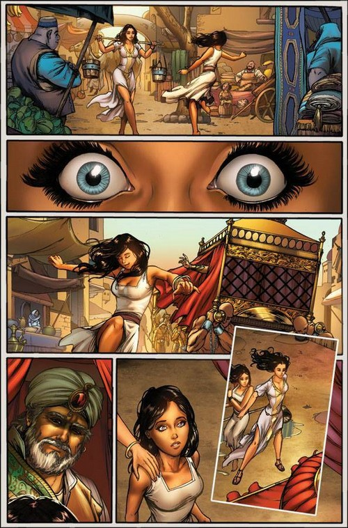 Shahrazad : le comic book publié en VF chez Alayone Comics